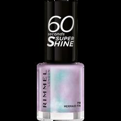 Vernis à ongles 60 seconds super shine colour block 719 mermaid fin RIMMEL, nu, 8ml