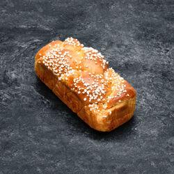 Brioche Tressée, recette avec beurre coloré, 300g
