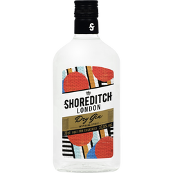 Shoreditch London dry Gin U, 37,5%, 70cl