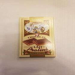 Chocolat, Lait praliné, Chocolaterie du Mont-Blanc