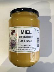 Miel de tournesol de france 1kg