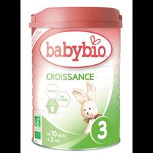 Croissance bio en poudre BABYBIO, 900g