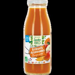 5 fruits et légumes mango power 100% bio JARDIN BIO 50cl