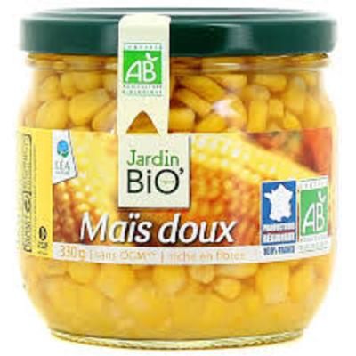Mais doux croquant sans OGM Jardin Bio 330g