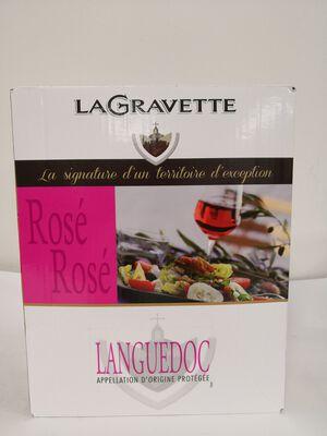 AOP Languedoc - La Gravette Rosé - BIB 3L