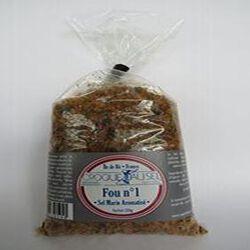 Sel fou n°1 de l'Île de Ré, pot 250gr, Croque au sel