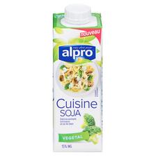 Brique à base de soja pour cuisiner ALPRO, 250ml