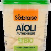 La Sablaise Sauce Aïoli Bio La Sablaise, 135g