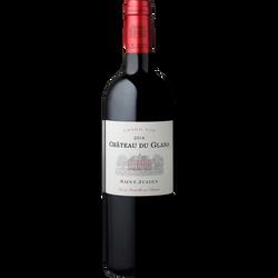"""Vin rouge AOP Saint Julien """"Château Du Glana"""", 6 bouteilles de 75cl"""