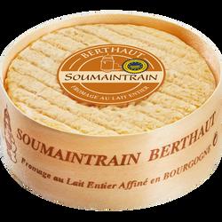 Fromage au lait entier pasteurisé à pâte molle et croûte lavée Saoumaintrain IGP, 25% de MG, 400g