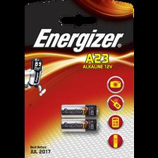 Piles ENERGIZER miniature, A23, 2 unités