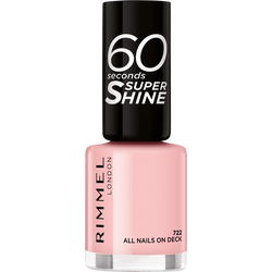 Vernis à ongles 60 seconds super shine col.block 722 all nails on deck RIMMEL
