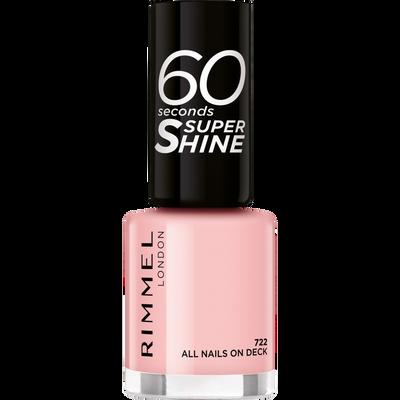 Vernis à ongles 60 seconds super shine col.block 722 all nails on deck RIMMEL