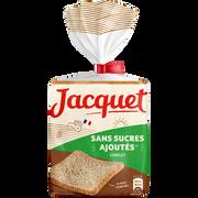 Jacquet Pain De Mie Maxi Tranches Sans Sucre Ajoutés Complet Jacquet, Paquet De 550g