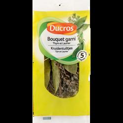 Bouquet garni thym et laurier, DUCROS, sachet de 5 fagots, 17g