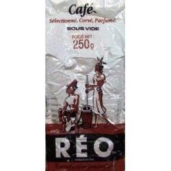 Café moulu, REO, paquet de 250g