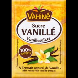 Sucre vanillé VAHINE, 5 sachets, 37,5g