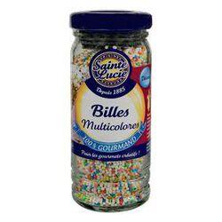 Billes multicolores, SAINTE LUCIE, flacon de 80g.
