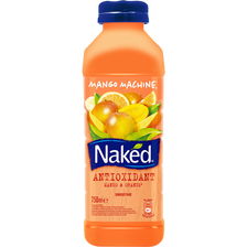 Smoothie antioxydant mango machine NAKED, bouteille de 75cl