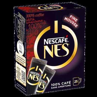 Café soluble Nes NESCAFE, 25 sticks, 50g