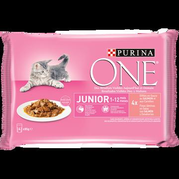 Purina One One Chat Junior Sachet 4x85g