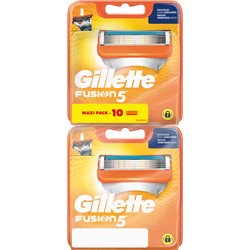 Lames de rasoir fusion 5 power GILLETTE, x5