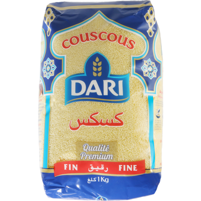 Couscous fin DARI, paquet de 1kg
