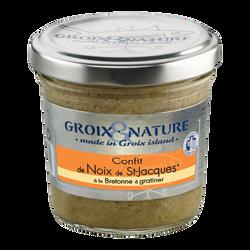 Confit aux noix de St Jacques GROIX ET NATURE, 100g