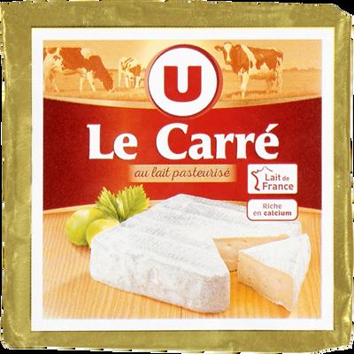 Fromage au lait pasteurisé Le Carré U, 23%MG, 230g