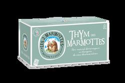 Infusion thym les 2 marmottes boîte x30 sachets 35g