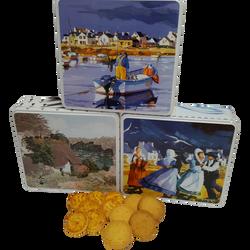 Grand coffret mixte galettes beurre & palets BISCUITERIE JOUBARD, 600g