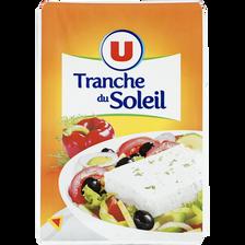 Fromage au lait pasteurisé Tranche du Soleil U, 23%MG, 200g