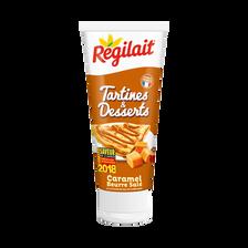Caramel au beurre salé et à la fleur de sel de Guérande REGILAIT, tubede 300g