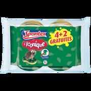 Spontex Gratte Éponges Iconique Spontex X4+2 Gratuites