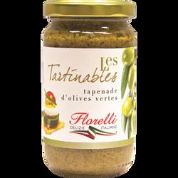 Tapenade olives vertes FLORELLI, 190g