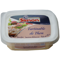 Tartinable de thon SIMON DUTRIAUX, 150g