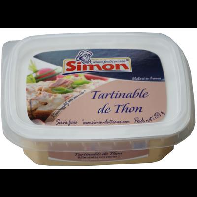 Tartinable de thon SIMON DUTRIAUX, 150g