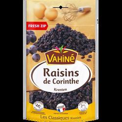 Raisins de Corinthe VAHINE, sachet de 125G