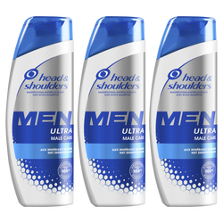 Shampooing men total care HEAD & SHOULDERS flacon 3x250ml