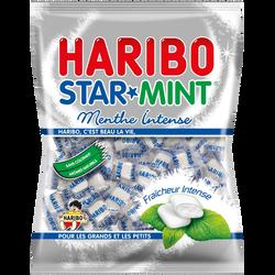 Bonbons à la mente Ricqlès Starmint HARIBO, 200g