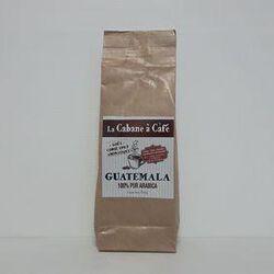 Café moulu Guatemala 100% pur arabica LA CABANE A CAFÉ paquet 250g
