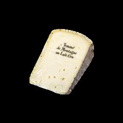 Tomme de montagne lait cru 30%mg/45%mg portion