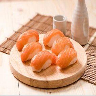 Box sushi au saumon x6, FABRICATION MAISON