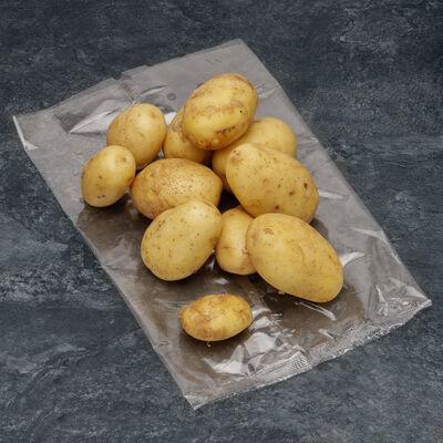 Pomme de terre primeur grenaille Lady Christl, à chair ferme, 28/35mm,catégorie 1, France, sachet 1kg