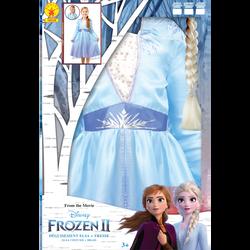 La Reine des neiges - Panoplie Elsa + tresse taille M - Dès 5 ans