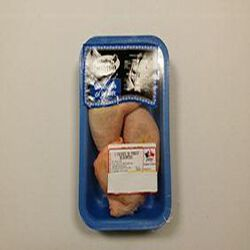2 cuisses de poulet déjointées Volailles de Korrigan