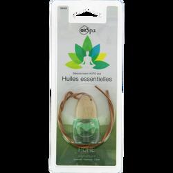 Flacon parfumé Pure à suspendre, AIR SPA, à base d'huiles essentiellesde lavandin, patchouli et citron