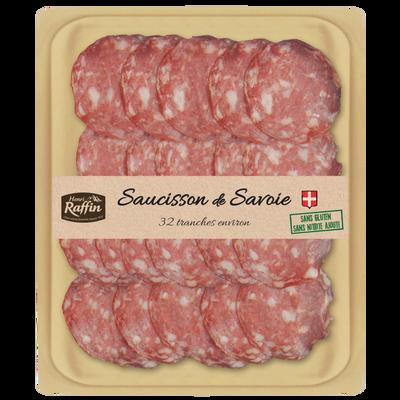 Saucisson Savoie prétranché HENRI RAFFIN, 24 trch. soit 110g