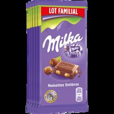 Milka Chocolat Au Lait & Noisettes  Tablette 5x100g Lf