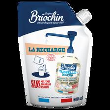 Recharge liquide vaisselle et mains sans parfum Ecocert BRIOCHIN, 500ml